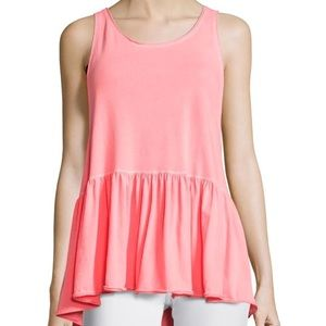 Free People pink babydoll top NWT